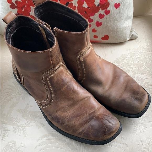 Mens Short Boots